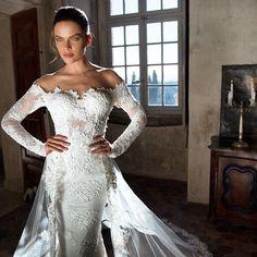 Yay or Nay? Tag your friends Gown: G1169 #parisdress #weddinggown #paris #fashion #bridal #wedding #weddingphotography #gowns #princess by paris.dress