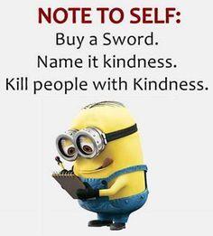 Funny Minion Pictures, Funny Minion Memes, Funny Animal Jokes, Minions Quotes, Minion Humor, Funny True Quotes, Sarcastic Quotes, Jokes Quotes, Really Funny Memes