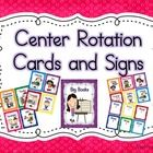 Programmable Center Signs and Cards (bright polka dots) 2 in 1 set. This product contains a complete center chart kit. It contains 2 documents . Center Rotation Charts, Center Chart, Center Rotations, Kindergarten Centers, Kindergarten Classroom, School Classroom, Classroom Ideas, Literacy Stations, Literacy Centers