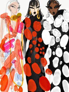 Illustrations - Anjelica Roselyn Fashion Design Sketchbook, Fashion Design Portfolio, Art Sketchbook, Fashion Illustration Collage, Illustration Art, Silhouette Mode, Art Inspo, Fashion Art, Art Drawings