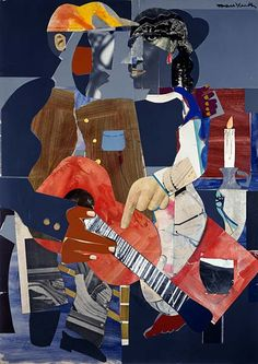 Serenade by Romare Bearden