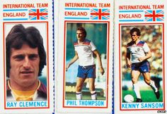 Is it ever acceptable for a grown man to collect football stickers, pretending they are for his kids? England National Football Team, National Football Teams, Kenny Sansom, Ray Clemence, 1970 World Cup, Football Stickers, International Teams, World Football, Squad