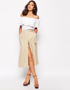 Warehouse Tancel Wrap Skirt | Dresscab