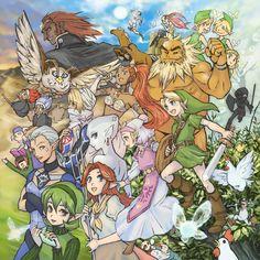 Legend of Zelda: Ocarina of Time fan art