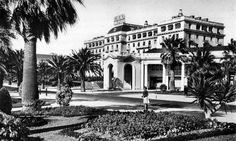 """The Hotel Palacio in Estoril, Portugal, was full of spies from all the belligerents during Ian Fleming planned """"Operation Golden Eye"""" here. Portugal, Golden Eyes, Beautiful Eyes, Lisbon, Ww2, Scenery, Mansions, History, Architecture"""