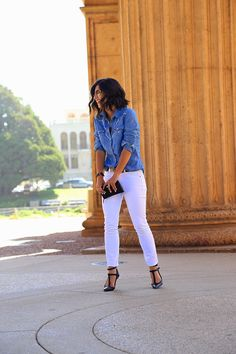 We love how blogger @krystalb of This Time Tomorrow styled her #parkersmithjeans   Find your own favorite style at parkersmith.com