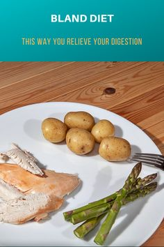 Bland diet (also known as light diet) relieves the digestive system and is therefore often used for diseases affecting the gastrointestinal tract. We explain what you should know about bland diet. Galbladder Diet, Brat Diet, Gerd Diet, Diet Menu, Diet Foods, Dukan Diet, Paleo Diet, Keto, Diet Recipes