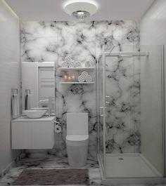 Diseño de Baño Pequeño (de Gabriela Afonso)