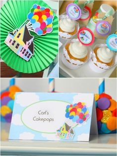 Up Movie Inspired Birthday Party