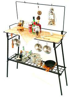THE FOLDING BAR COUNTER TABLE バーカウンターテーブル 各色 | アウトドアテーブル | | Nature-tones <The Expand Metal Products>