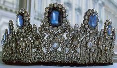 Leuchtenberg Sapphire Tiara, Swedish Royal Family.