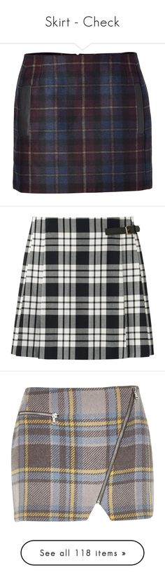 """Skirt - Check"" by giovanna1995 ❤ liked on Polyvore featuring skirts, mini skirts, bottoms, faldas, saias, plaid skirt, checkered skirt, colorful skirts, multi colored skirt and tartan plaid mini skirt"