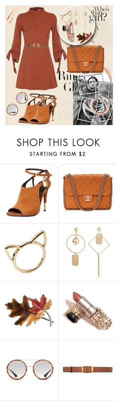 """""""Bez naslova #233"""" by sabina-mehic123 ❤ liked on Polyvore featuring Tiffany & Co., Tom Ford, Chanel, Anne Klein, Gucci and STELLA McCARTNEY"""