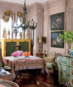 My Bohemian Home The home of boho icon Iris Apfel