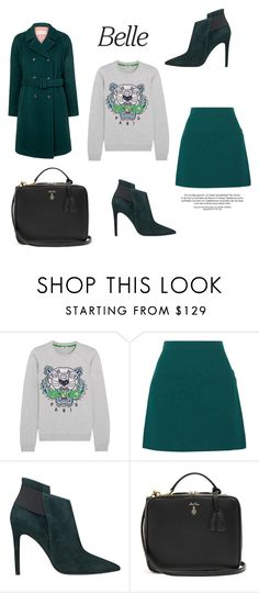 """""""96"""" by meldiana ❤ liked on Polyvore featuring Kenzo, Victoria, Victoria Beckham, GUESS, Mark Cross and Paul & Joe Sister"""
