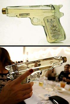 tequila liquor pistol