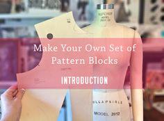 Make your Own Pattern Blocks - SEWLOFT