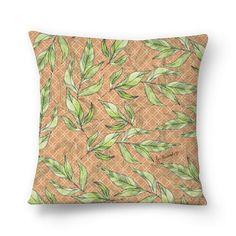 Almofada Natural Leaves de @jurumple | Colab55