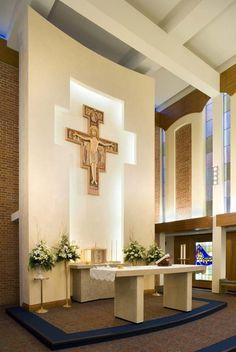 St. Joseph Medical altar