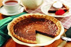 Grandma teased me, saying chess #pie was only for people who played chess!