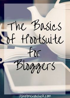Hootsuite basic tips for those who want to schedule their social media posts. Lots of options with this free tool/softwrae.