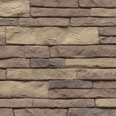 """This 'stone' is not really stone, it's siding that is a kind of plastic! It would be really cool as a backsplash in the kitchen. Lightweight and only 1/4"""" thick!"""