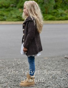 KNITTING PATTERN-The Waltyn Sweater 2/3 4/5 6/7 by Thevelvetacorn