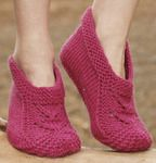 Socks & Slippers - Free knitting patterns and crochet patterns by DROPS Design Knitted Booties, Knitted Slippers, Crochet Socks, Knitting Socks, Knit Socks, Knit Crochet, Knitting Patterns Free, Free Knitting, Free Pattern
