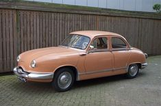 And here's the original 1959 Panhard Dyna Z.