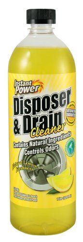 Scotch 1501 Instant Power Disposal and Drain Cleaner, Lemon Scent by Scotch. $7.70. From the Manufacturer      Instant Power Disposer and Drain Cleaner is an enzyme formulation made to digest and break up drain clogging material and eliminate odors. This is the product that you have been searching for to get rid of the horrible disposal smell that comes from tiny food particles and pipes as you wash your dishes. For best results use weekly or as needed. This will keep gar...