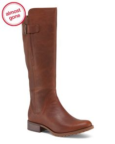 Timberland Waterproof Knee High Leather Boots