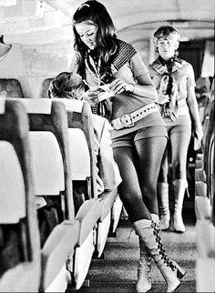 1960's flight attendant