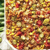 Party-Worthy Casseroles The Crowd Will Love - okra Rice Bake Recipes, Casserole Recipes, Baking Recipes, Italian Casserole, Rice Casserole, Fast Healthy Meals, Healthy Recipes, Chicken Broccoli Bake, Chicken Spaghetti Casserole