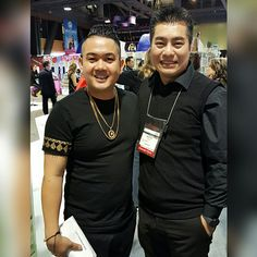 With Mikey Nguyen at the 2017 ISSE Long Beach, 01/2017.