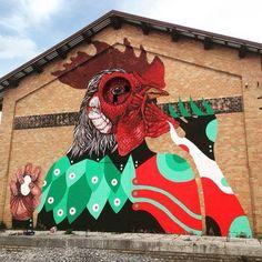 Gio Pistone + Nicola Alessandrini - Italian Street Artists - Ancona (IT) - 05/2015 - |*/| #giopistone #nicolaalessandrini