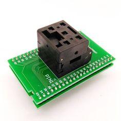 QFN44 IC test socket 6*6 0.4mm QFN44 Programming socket adapter