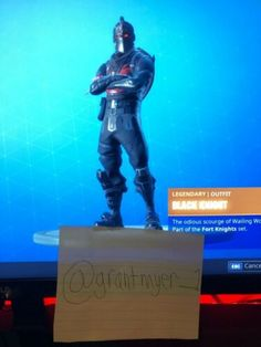 OG Black Knight Fortnite Account (RARE ITEMS, 200+ WINS) {READ DESCRIPTION} Ps4 Exclusives, Best Gaming Wallpapers, Xbox One Pc, Epic Games Fortnite, Black Ops 4, Ebay Search, Shrink Wrap, Free Games, Trading Cards