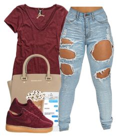 """3/6/16"" by polyvoreitems5 ❤ liked on Polyvore featuring мода, Michael Kors и NIKE"
