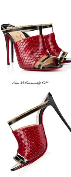 Christian Louboutin 2015  |  @ christian  louboutin, these are just fab U lous!