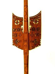 Furcă de torsFurcă de brâu - Muzeul Naţional al Ţăranului Român - BUCUREŞTI (Patrimoniul Cultural National Mobil din Romania. Ordin de clasare: 2408/13.08.2013 - Fond)