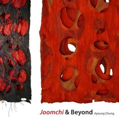 JOOMCHI & BEYOND -     Joomchi is a 500-year-old Korean paper-making technique that uses water to seal several layers of thin, handmade mulberry papers together to form a single, strong sheet. Jiyoung Chung has brought her unique artistic sensibility to this established medium. Her colorful, richly-textured paper collages have an appealing cloth-like texture and read as poetic statements or narratives.