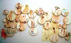artists, momentor cogan, embroideri