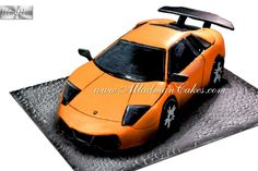Discover recipes, home ideas, style inspiration and other ideas to try. Lamborghini Cake, Huracan Lamborghini, Lamborghini Diablo, Birthday Cakes For Men, Man Birthday, Semi Truck Cakes, Gravity Defying Cake, Sculpted Cakes, Fashion Cakes