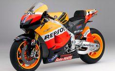 HONDA RC213v 1000cc 2012 Front Side
