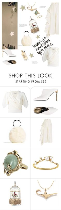 """""""a kind of magic - queen"""" by gabrielleleroy ❤ liked on Polyvore featuring Lanvin, Solace, Vintage, WWAKE, Viktor & Rolf, fauxfur and polyvoreeditorial"""