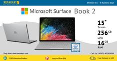 Microsoft Surface Book 2, 15 inch, 256GB, 16GB, i7, NVIDIA® GeForce® GTX 1060 Online at Menakart.com Microsoft Surface Pro 4, Uae, Books, Libros, Book, Book Illustrations, Libri