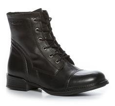 Nilson Shoes Skoletter & boots Sko Skinn Sort