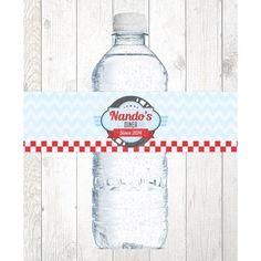 Rotulo de agua Festa Lanchonete
