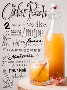 Sip and repeat. #fall #cocktails http://greatist.com/eat/fall-cocktail-recipes