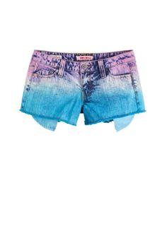 dELiAs > Multicolored Acid Wash Short > bottoms > shorts > view all shorts